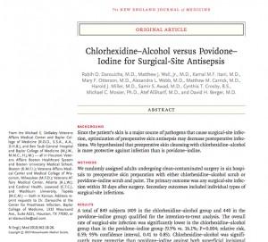 Chlorhex Skin prep